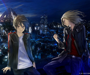 anime, guilty crown, and boy image