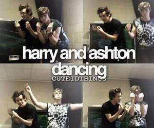 dance, 5sos, and harry image