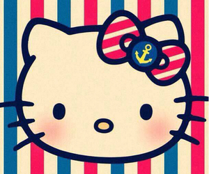 colors, HelloKitty, and iphone image
