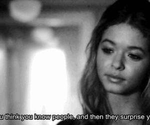 pretty little liars, quote, and people image