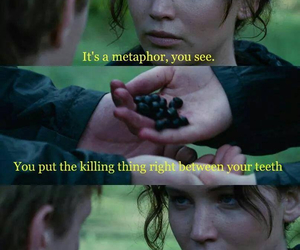 katniss, crossover, and the fault in our stars image