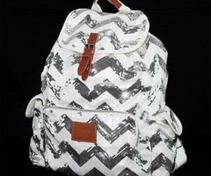 backpack, sequins, and stylish image