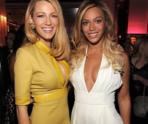 beyoncé, blake lively, and gossip girl image