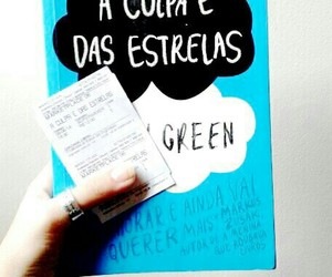 blue, augustus waters, and john green image