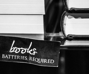 batteries, book, and books image
