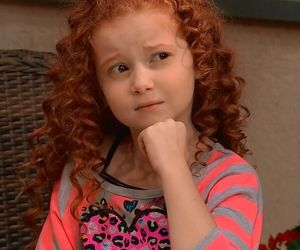 actress, adorable, and curly red hair image