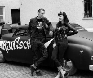greaser, Pin Up, and psychobilly image