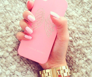 cellphone and pink image