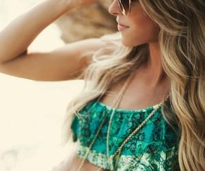 summer, bikini, and beach image