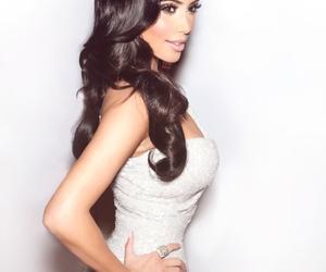 kim kardashian, kim, and hair image