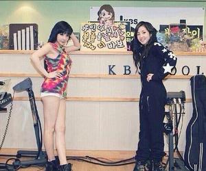 2ne1, dara, and park bom image
