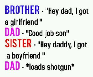 dad, boyfriend, and brother image
