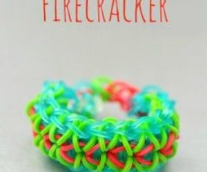 firecracker and loom band image