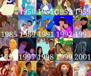 couples, disney, and funny image