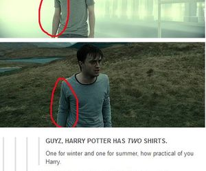 harry potter, funny, and shirt image