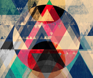 triangle, background, and colorful image