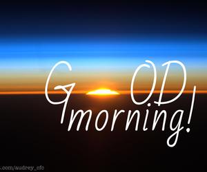 good morning and sun image