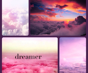 clouds, pretty, and dreamer image