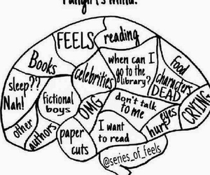 books, fangirl, and feel image