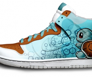 pokemon, nike, and squirtle image