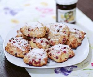 food, scones, and scone image
