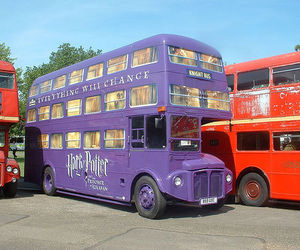 harry potter and bus image