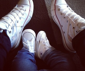 baby, shoes, and converse image