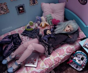 bjd, home, and cute image
