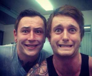 asking alexandria, james cassells, and sam bettley image