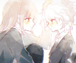2, anime, and couple image