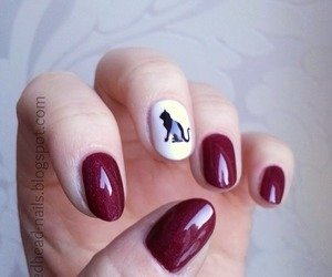 nail art and animal nail art image