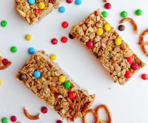 chocolate, food, and granola bars image