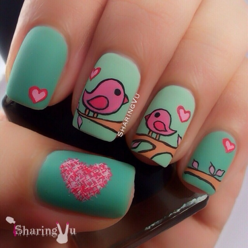 The Cutest Animal Nail Art 2014 Bmodish On We Heart It