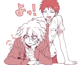 2, Hajime, and nagito image