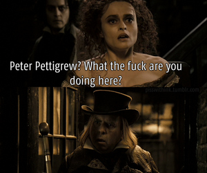 harry potter, funny, and sweeney todd image