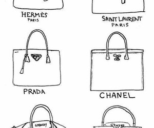 Prada, chanel, and bag image