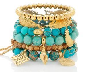 beautiful, jewelry, and gold image