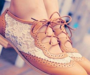 lace, girly, and shoes image