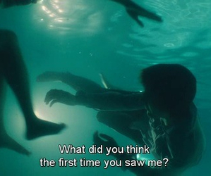 quotes, grunge, and water image