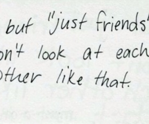 just friends, love, and friends image