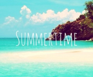 summer, beach, and summertime image
