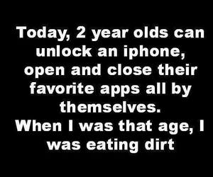 funny, iphone, and kids image