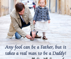 father and quote image