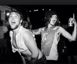 couple, party, and danny worsnop image