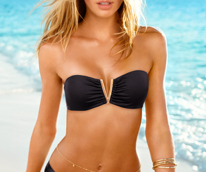 bikini, summer, and candice swanepoel image