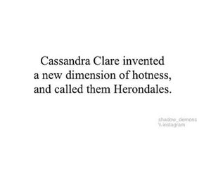 the mortal instruments, shadowhunter, and the infernal devices image