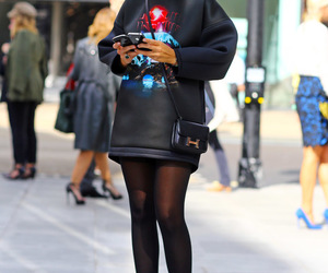 fashion, black, and miroslava duma image