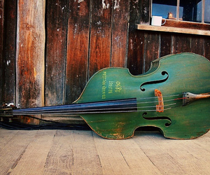 bass, green, and classic image
