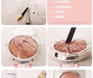 diy, makeup, and make up image