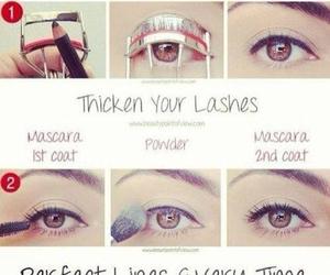 diy, makeup, and eyeliner image